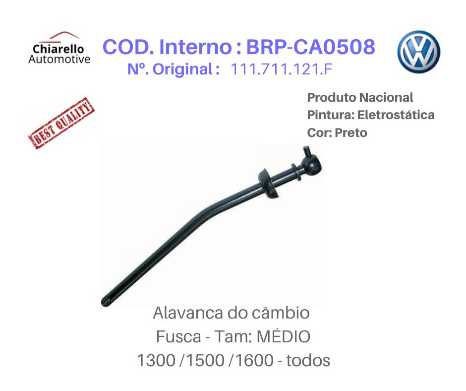 Alavanca Fusca Tamanho Média Medida 25cm  - Chiarello Automotive
