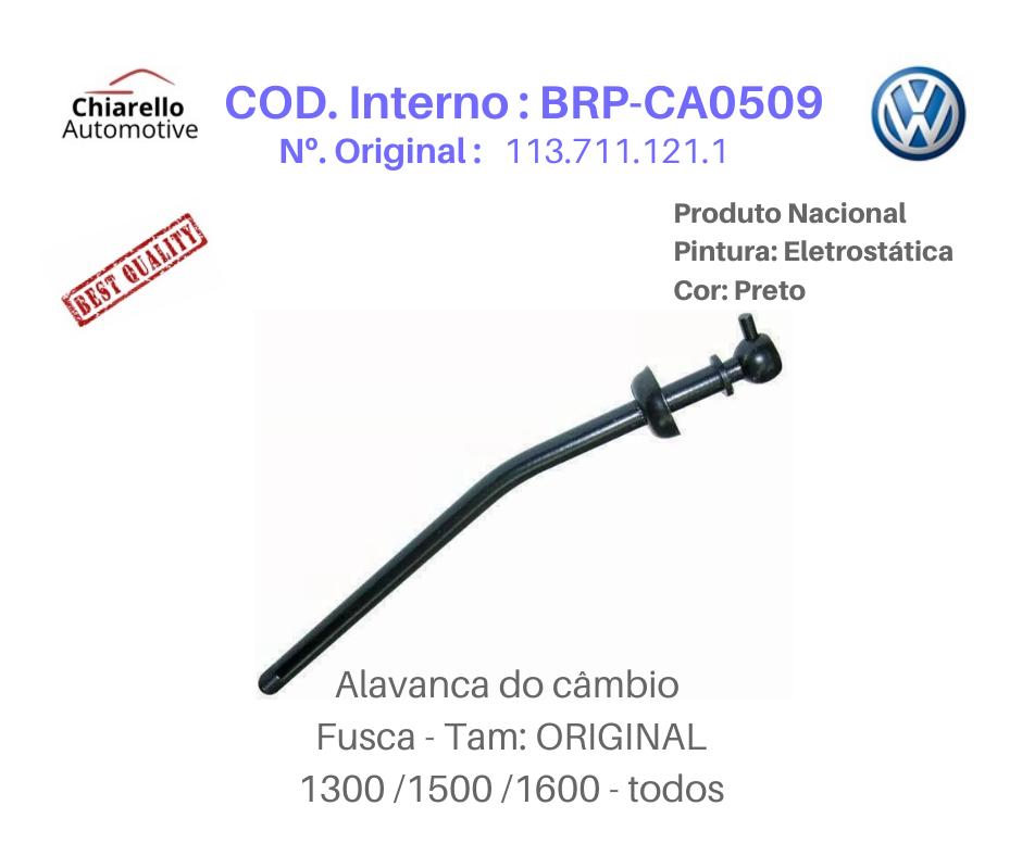 Alavanca Fusca Tamanho Original Medida 31cm  - Chiarello Automotive