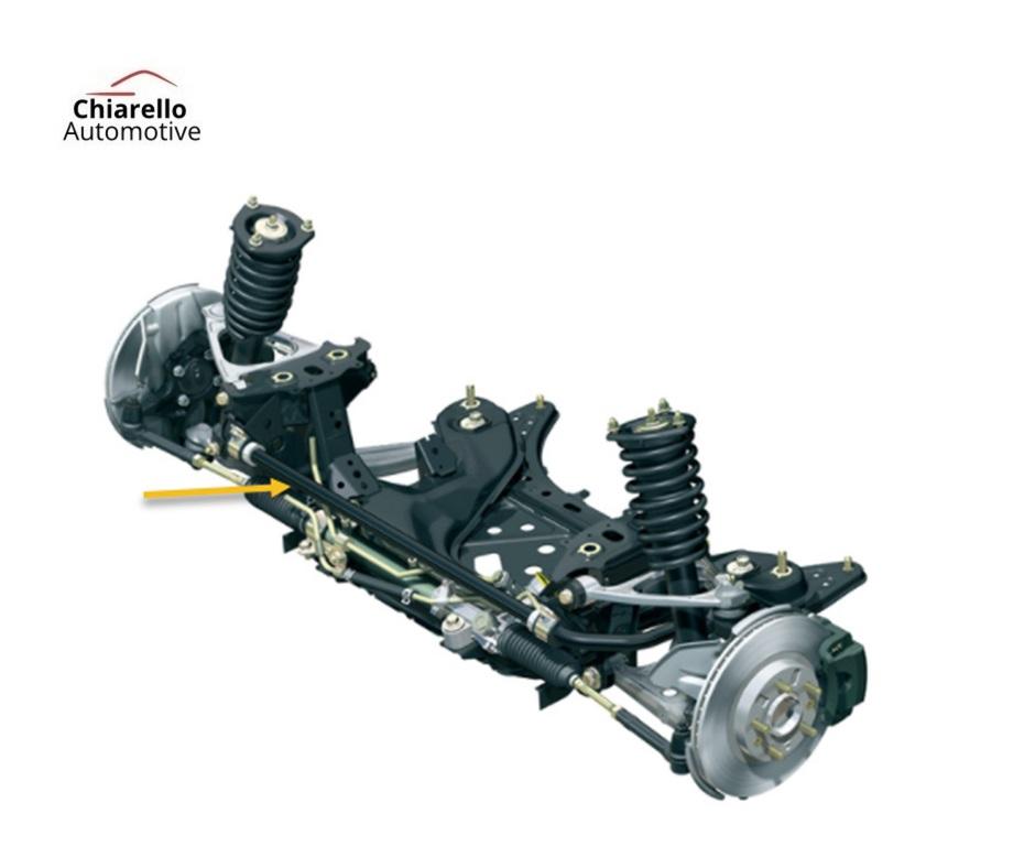 Barra Estabilizadora FIAT STILO  SEM Kit de Abraçadeiras e Borrachas  - Chiarello Automotive