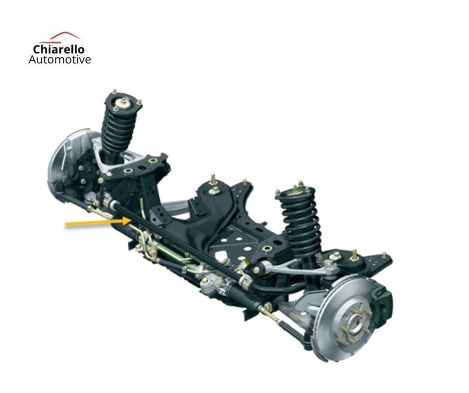 Barra Estabilizadora Suspensão Traseira Hyundai Tucson c/ Kit de Abraçadeiras e Borrachas  - Chiarello Automotive