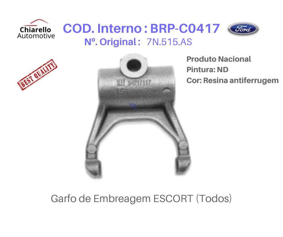 Garfo de Embreagem ESCORT (Todos)  - Chiarello Automotive