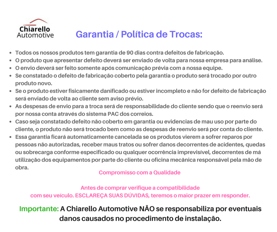 Garfo de Embreagem MONZA / KADETT / IPANEMA 82/92  - Chiarello Automotive
