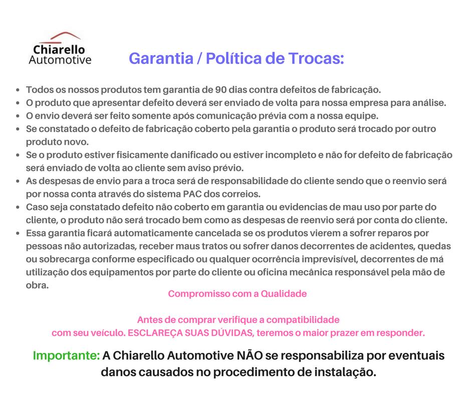 Polia Aletada do Alternador Kombi Fusca Brasília I Cubo Solto - Preta  - Chiarello Automotive