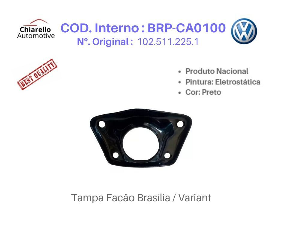 Tampa do Facão Suspensão Traseira Brasília Variant  - Chiarello Automotive
