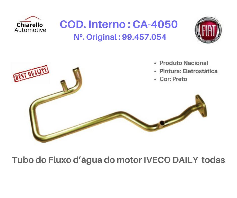 Tubo do Fluxo da água do motor IVECO DAILY  todas  - Chiarello Automotive