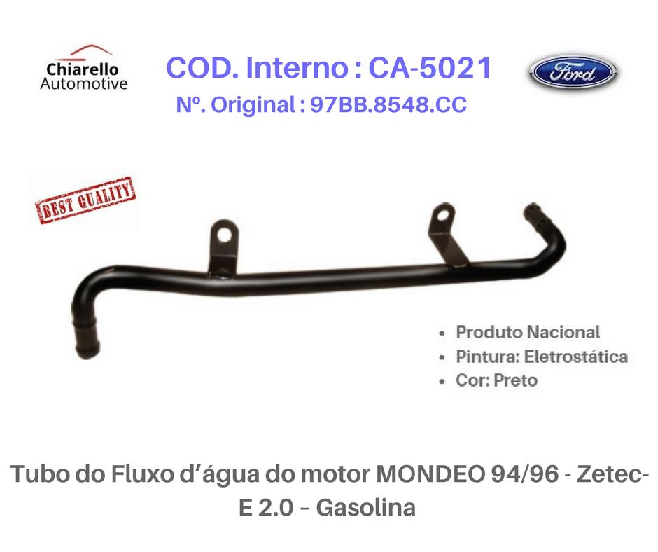 Tubo do Fluxo da água do motor MONDEO 96/98 - Zetec-E 2.0 - Gasolina - S/ar  - Chiarello Automotive