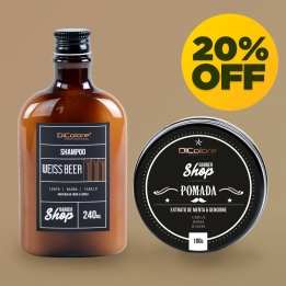 Kit Barba e Cabelo - BarberShop (2 produtos)