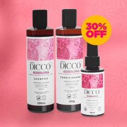 Kit Desmaia Cabelo Liso Perfeito (3 produtos) - DICCO