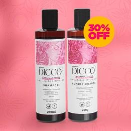 Kit Desmaia Cabelo Liso Perfeito Shampoo + Condicionador - DICCO