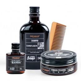 Kit Grisalho com Estilo - BarberShop (4 produtos)