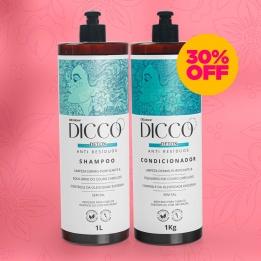 Kit Litro Detox Capilar Anti Resíduos Shampoo + Condicionador - DICCO