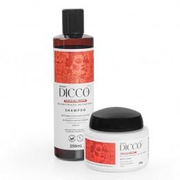 Kit Salva Cabelo Restauração Instantânea Shampoo + Máscara - DICCO