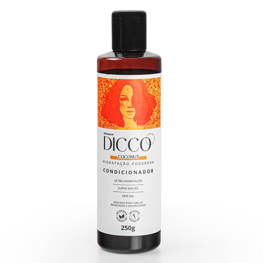 Condicionador de Hidratação e Nutrição Intensiva Coconut - DICCO