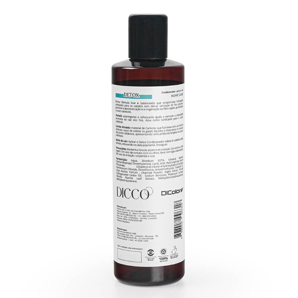 Condicionador Detox Capilar Anti resíduos Limpeza Profunda - DICCO