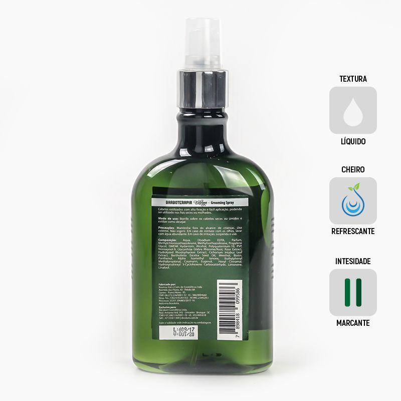 Grooming Spray, Estilizador de Cabelos