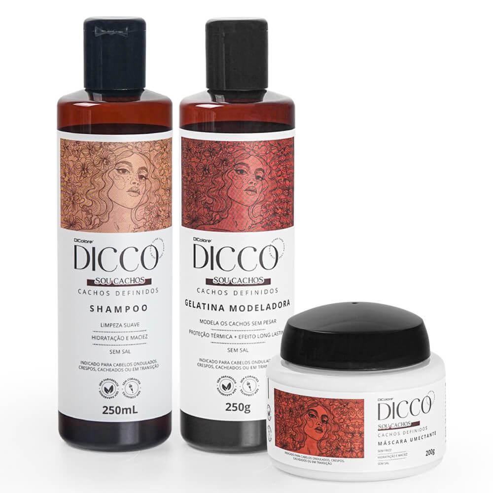 Kit Cachos Definidos e Poderosos (3 produtos) - DICCO