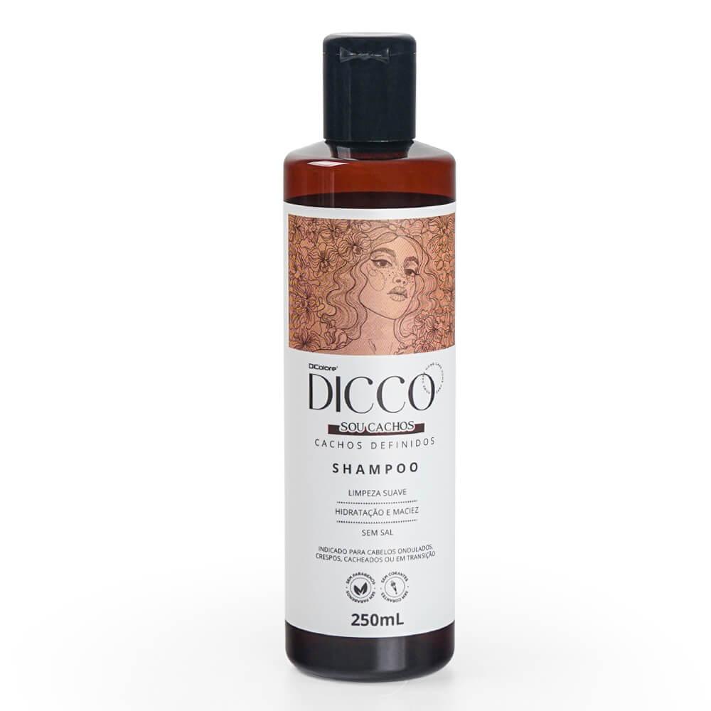 Shampoo para Cabelos Cacheados, Crespos e Ondulados Sou Cachos - DICCO