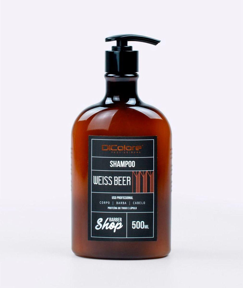 Shampoo Corpo, Barba e Cabelo Weiss Beer - BarberShop
