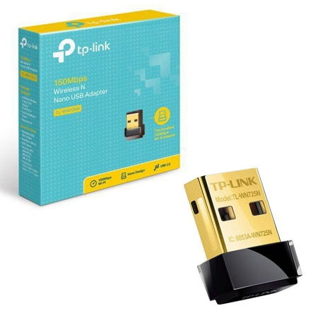 Adaptador Wireless TP-LINK USB 150MBPS TL-WN725N
