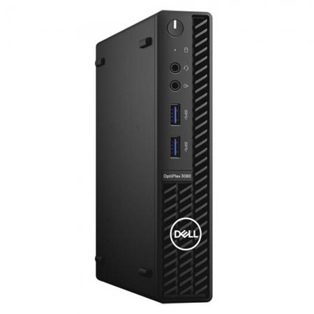 Computador Dell Optiplex 3080 Micro Intel Core I3-10100T Memória 8gb Hd 500gb Sistema Windows 10 Pro