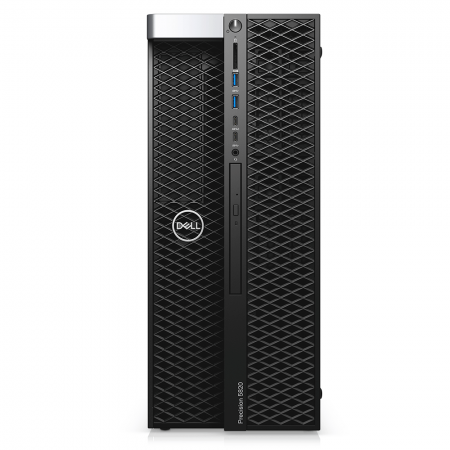 Computador Dell Workstation Precision T5820 Intel Xeon W-2145 16gb Ddr4 Ssd 256gb Dvd Quadro P2200 Windows 10 Pro