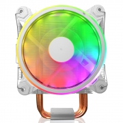 Filial - Cooler Pcfort Cl4200 Plus Com Rgb Para Processador E Cpu Intel E Amd