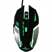 Filial - Mouse Gamer Pcfort Usb Am-9882 Preto E Cinza Com Rgb