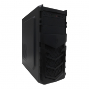 Gabinete Office PcFort Dragon Black