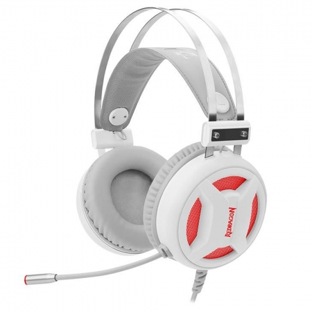 Headset Gamer Redragon MINOS Branco H210W