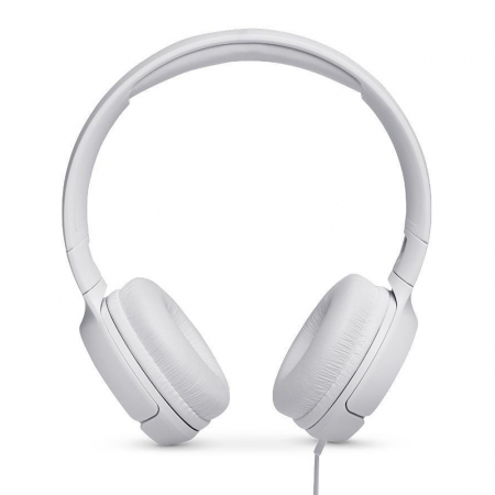 Headset Jbl Tune 500wht Supra-auriculares Com Fio Branco