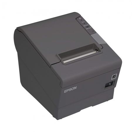 Impressora Não Fiscal Epson Térmica De Cupom Tm T88v Usb Paralela