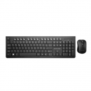 Kit Teclado E Mouse Wireless Multilaser Tc 212 2.4 Ghz Multimídia Preto