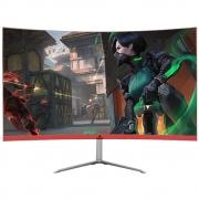 "Monitor Concórdia Gamer Curvo 23.8"" Led Full Hd Hdmi Vga Ips"