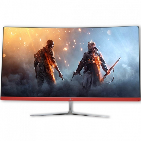 "Monitor Concórdia Gamer Curvo C78 27"" Led Full Hd Ips Hdmi Vga"