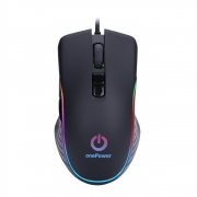 Mouse Gamer Rgb One Power Mo-505 3200 Dpi, 7 Botões Programáveis - Filial