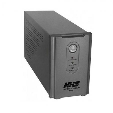 Nobreak Nhs Compact Plus Iii Max 1400va 700w Interactive B 2x7ah 8t E120/220v S120v