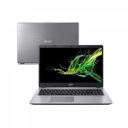 Notebook Acer A515 Core I5 8265u Memoria 8gb Ddr4 Ssd 120gb Tela 15.6' Led Hd Sistema Windows 10 Home