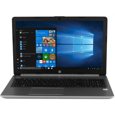 Notebook Hp 250g7 Core I5-8265u Memória 8gb Ssd 256gb Tela 15,6'' Hd Led Sistema Windows 10 Pro