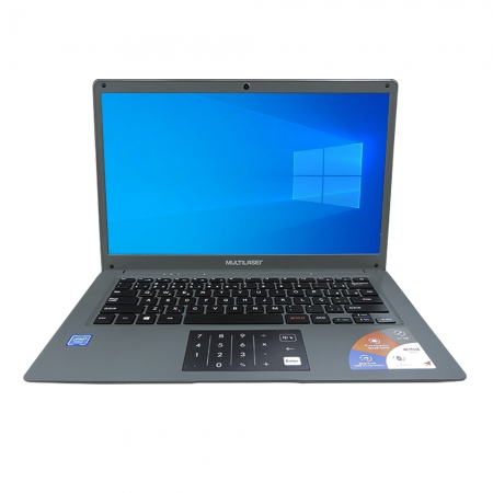 "Notebook Multilaser Pc131 Legacy Atom Z8350 Ram 2gb Hd 32gb Tela 14"" Windows 10 Home Cinza"