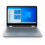 "Notebook Positivo Duo C464c Celeron Dual Core Ram 4gb Hd 64gb 12"" Touch Windows 10 Home + Ganhe Headset Sem Fio Philips"
