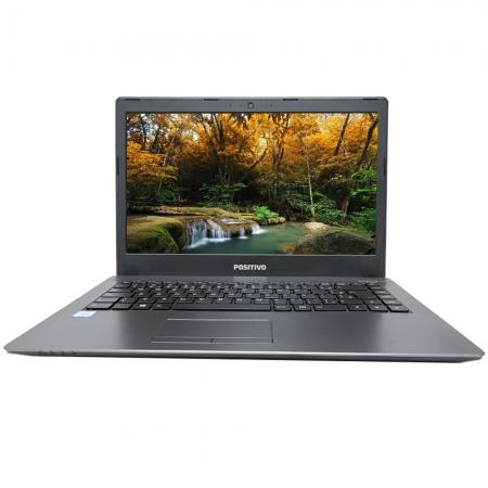 "Notebook Positivo Master N3140 Intel Core I3-7100u Memória 4gb Ddr4 Hd 1tb Ssd 120gb Tela 14"" Hd Led Sistema Windows 10"