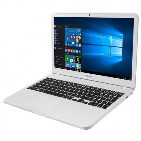 Notebook Samsung Essentials E30 Np350 Core I3 7020U Memoria 4Gb Hd 1Tb Tela 15.6' Fhd Cor Branco Win 10 Home