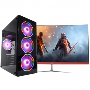 Pc Gamer One Concórdia Completo Monitor De 27'' Core I5 8gb Hd 1tb Ssd 120gb Placa Vídeo Gtx 1650 4gb Wifi