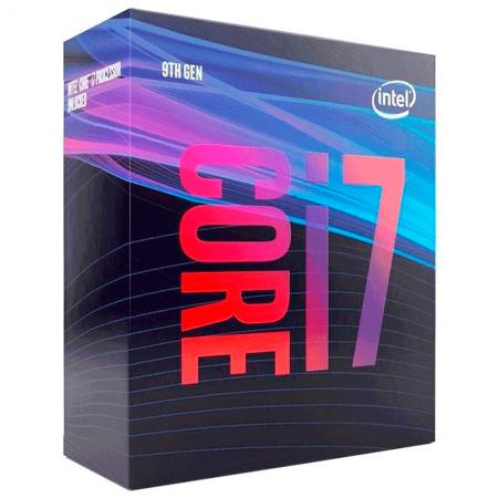 Processador Intel Core I7-9700, Cache 12mb, 3.0ghz (4.7ghz Max Turbo), Lga 1151