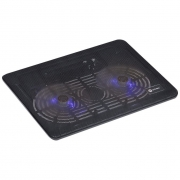Suporte Base Para Notebook Vinik Dynamic Wind Com 2 Fan Led Azul