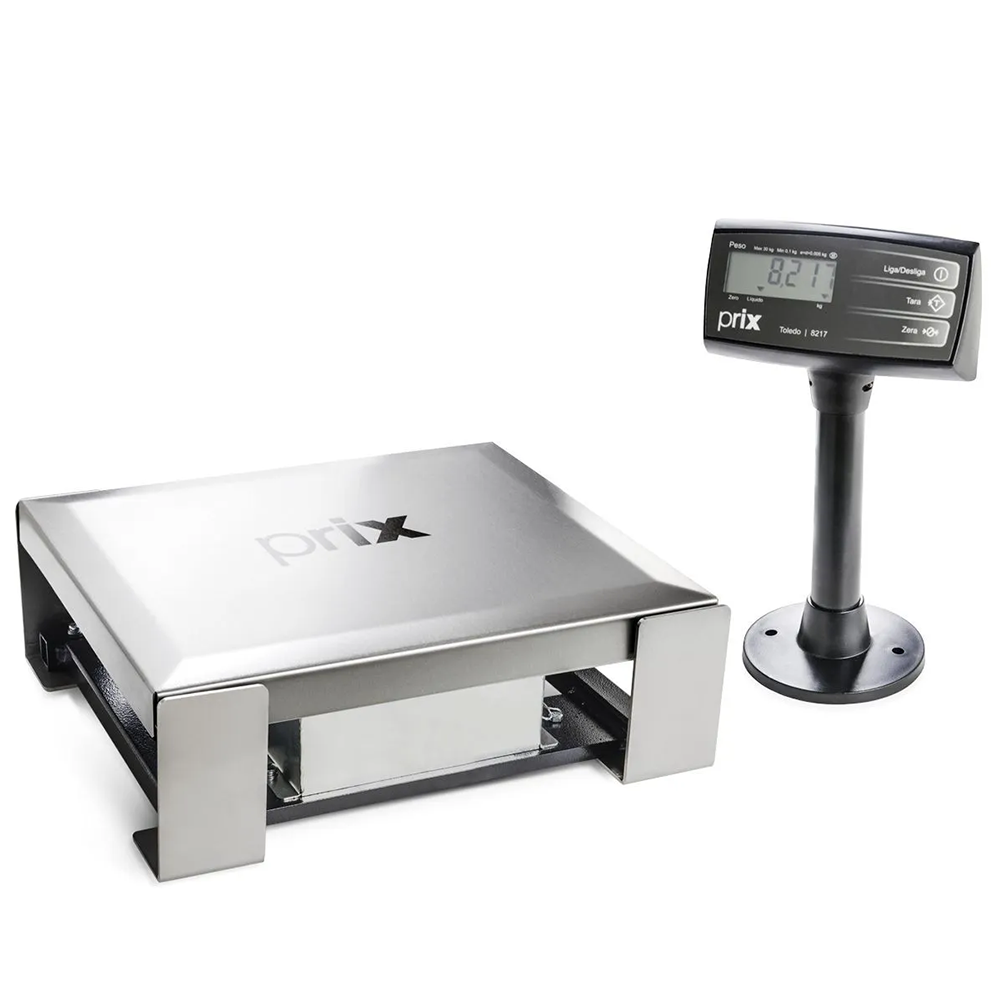 Balança Eletrônica Toledo Checkout 8217 Usb, Serial Lp 30kg 5g Inmetro