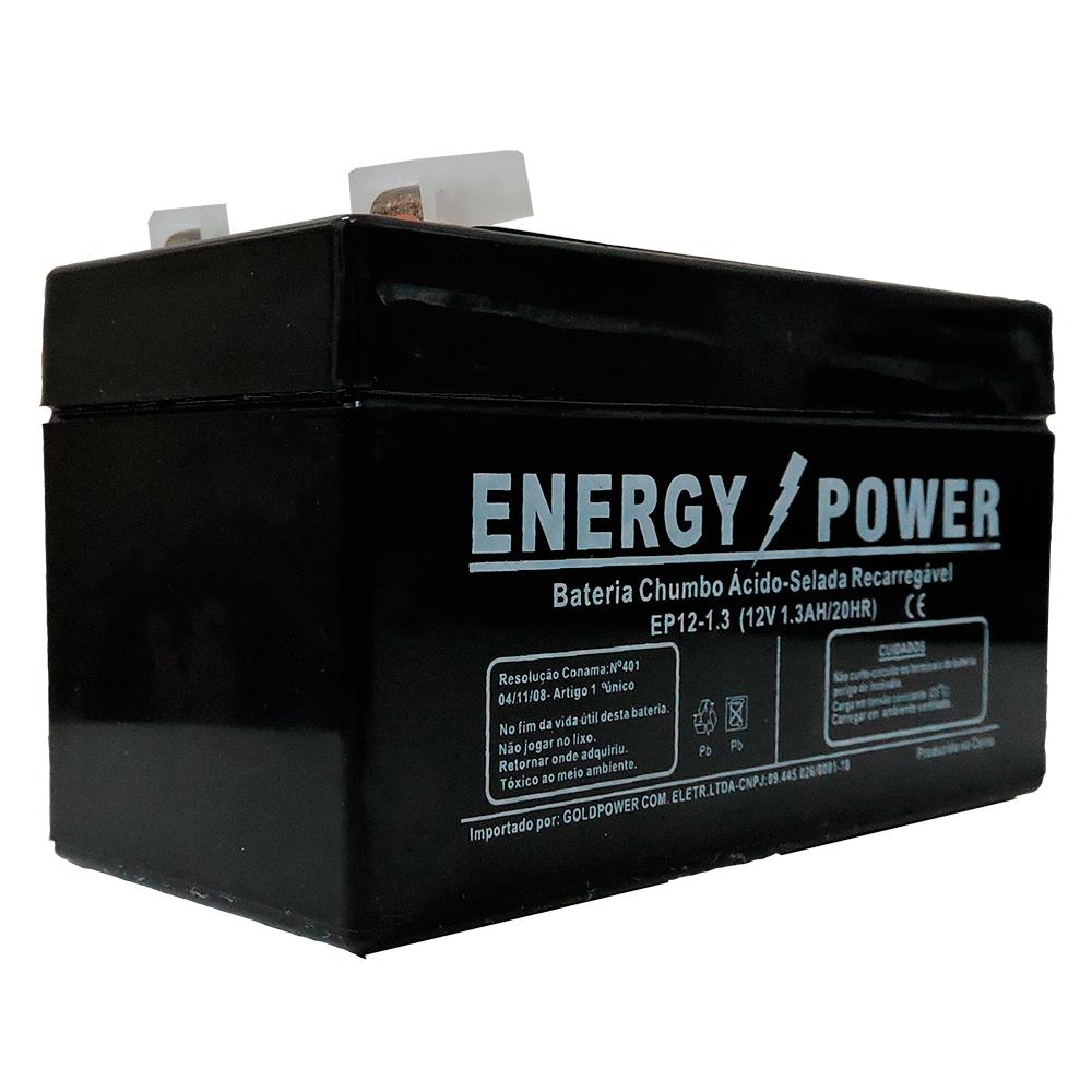 Bateria Para Relógio Ponto 12v 1,3ah