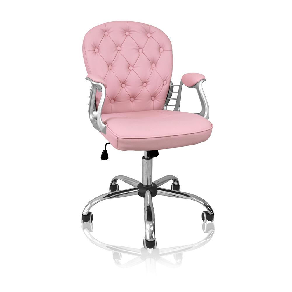 Cadeira De Escritório Concórdia Ac-1304 Rosa