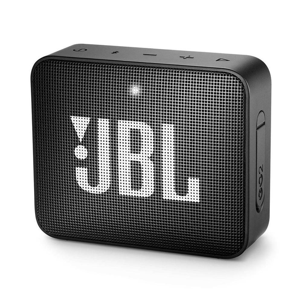 Caixa De Som Jbl Go2 Bluetooth A Prova D'água Preta