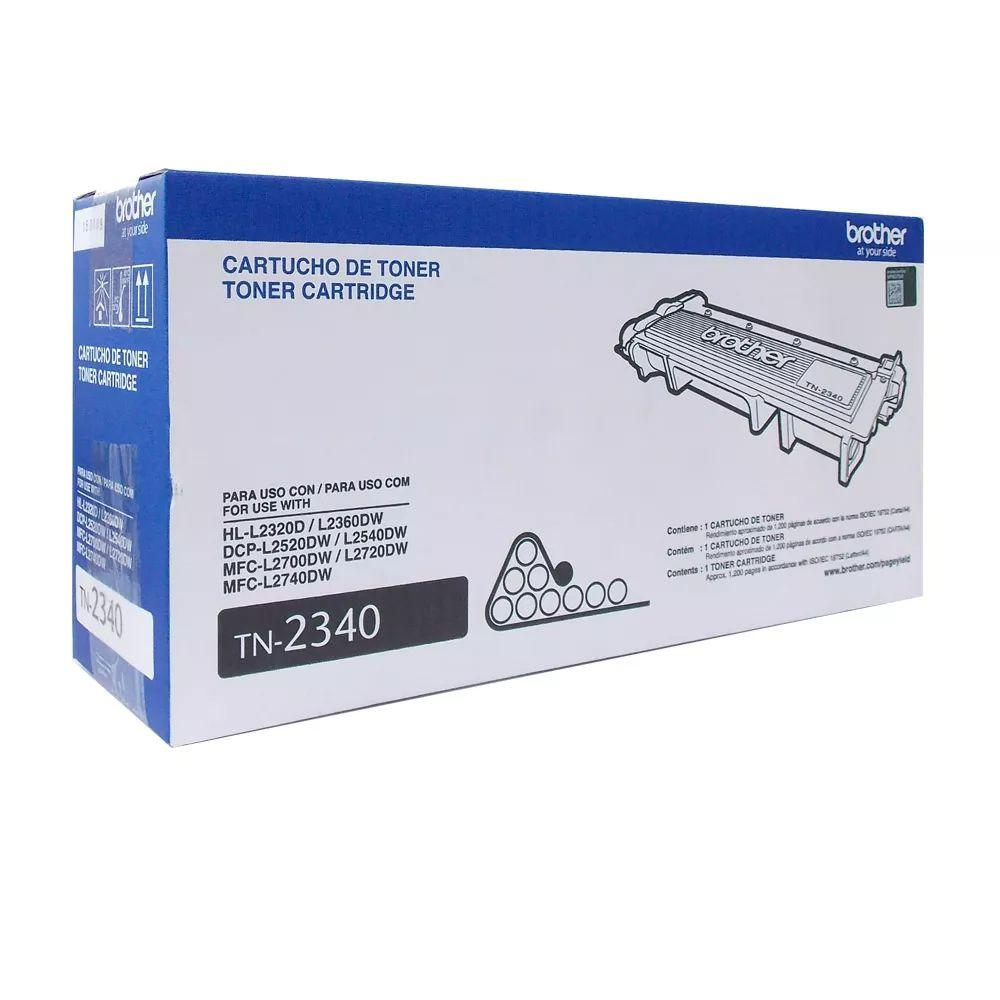 Cartucho Toner Brother Preto Tn2340br Original